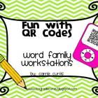 Fun with QR Codes: Word Family Workstations