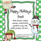 Christmas/Holiday Pack!
