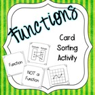 Function Card Sorting Activity