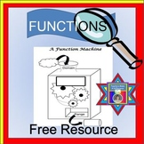 Functions Freebie {function notation - function machine -