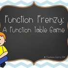 Function Table Game