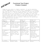 Functional Text Project