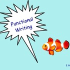 Functional Writing - Smartboard Lesson