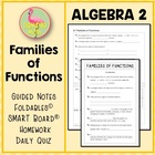 Functions ALG 2 Lesson 6: Families of Functions