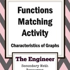 Functions Matching Game - Algebra 2