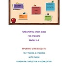 Fundamental Study Skills and Strategies for Students in Gr