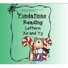 Fundations Letters x and y