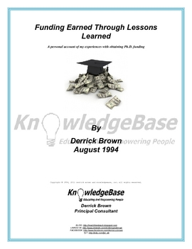 Funding Earned Through Lessons Learned