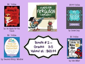 Funds for Ferguson Library Fundraiser Bundle 2 Valued at $58.84