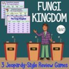 Fungi Powerpoint Jeopardy Review Game Set of Two Games