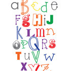 Funky Alphabet Sign