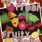 Funky, Fresh, Fruity, Friends Craftivity and Healthy Habits Pack