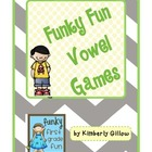 Funky Fun Vowel Games