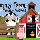 Funny Farm Funny Words - Real and Nonsense Words