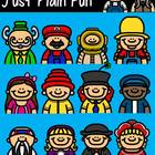 Funny Friends 13 Clipart Collection- Just Plain Fun! Comme