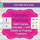 &quot;Funtastic&quot; Fractions: Fraction Games, Activities, and Ski
