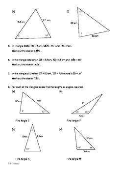 Further Trigonometry Problems