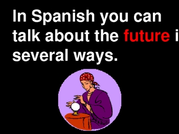 Future Tense Tutorial & Practice in English with Spanish examples