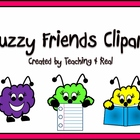 Fuzzy Friends Clipart/Graphics