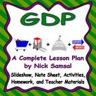 GDP (Gross Domestic Product) - Activities and Lesson Plan