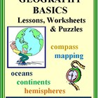 GEOGRAPHY BASICS - Teaching Unit with Essential Lessons