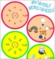 GH and GHT Phonics Word Wheels