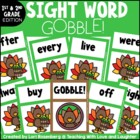 GOBBLE! A First and Second Grade Sight Word Game