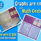 GRAPHS ARE COOL !!! Math Center K-2 ENGLISH