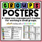 GROUPS Acronym Poster for Classroom Management
