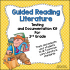 Guided Reading Literature Testing and Documentation Kit fo