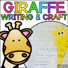 Gabby the Giraffe { Animal Craftivity and Writing Prompts! }