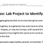 Galaxy Zoo: Lab Project to Identify Galaxies