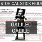 Galileo Historical Stick Figure (Mini-biography)