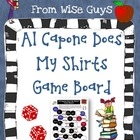 FREE Game Board Activity based on Al Capone Does My Shirts