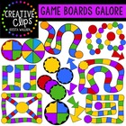 Game Boards Galore {Creative Clips Digital Clipart}