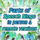 Game: Parts of Speech Bingo (4 levels, 50 unique cards)