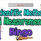 Game: Scientific methods & measurement bingo (25 cards)
