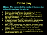 Game Template -  Ring that Bell (Whole Class Game)