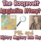 Game: The Roosevelt Assassination Attempt mystery party activity