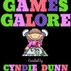 Games Galore {A Collection of 10 Common Core Aligned Games}