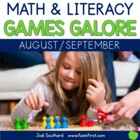 Games Galore {No Prep Math & Literacy Games for August/September}