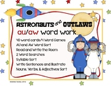 Games and Word Work for Vowel Dipthongs: AU and AW