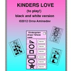 Games that Kinders Love BW version