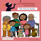 Garcia Family Clip Art
