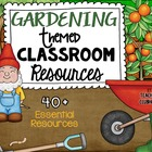 Garden Theme Pack from Teacher's Clubhouse