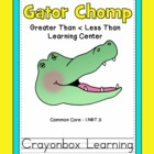 Gator Chomp - Greater Than  / Less Than Math Learning Center