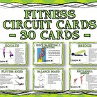 General Fitness Circuit Training Cards