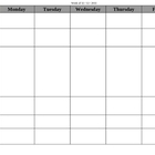 General Purpose Weekly Lesson Plan Template