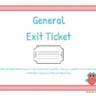 Generic Exit Ticket