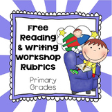 Generic Reading, Writing Workshop Rubrics, Printable PDF's